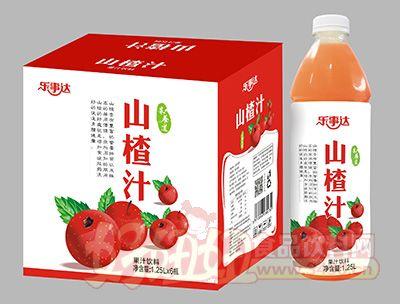 乐事达山楂果汁1.25Lx6瓶