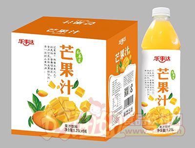 乐事达芒果果汁1.25Lx6瓶