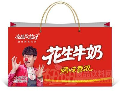 安佳果益子花生牛奶复合蛋白饮料(手提袋)