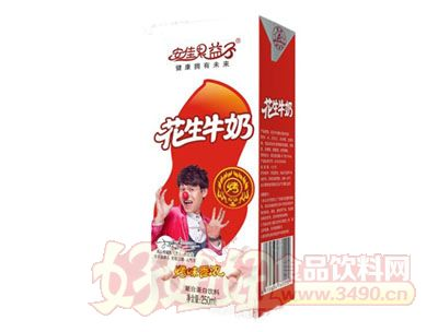 安佳果益子花生牛奶复合蛋白饮料250ml