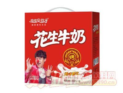 安佳果益子花生牛奶250mlx12盒