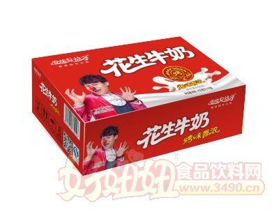 安佳果益子花生牛奶250mlx16盒