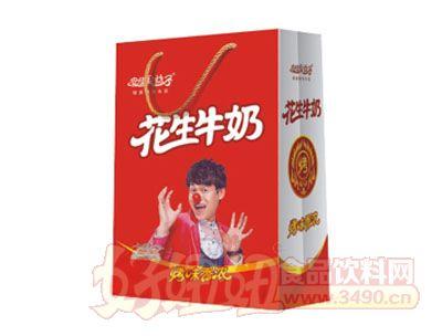 安佳果益子花生牛奶250mlx16盒礼盒装