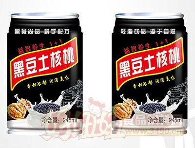 黑豆土核桃饮品245ml