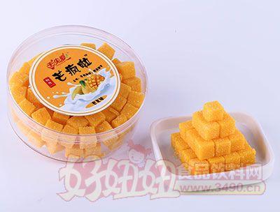 舌尖爱网红芒疯啦芒果软糕罐装