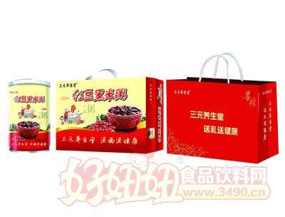 三元养生堂红豆黑米粥(礼盒)