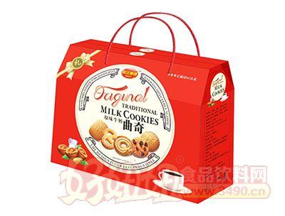 皖汪师傅原味牛奶曲奇礼盒