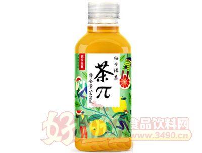 茶π柚子绿茶