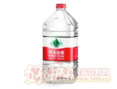 �r夫山泉�用天然水4l