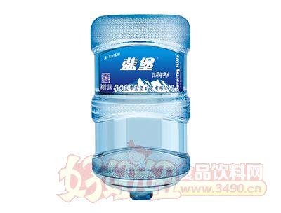 蓝堡饮用纯净水18.9L
