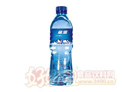 瓶装蓝堡饮用纯净水