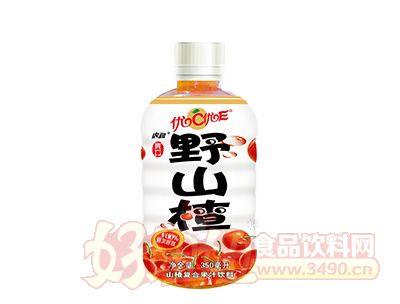 虎润野山楂复合果汁饮料350ml