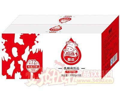 酷诺乳酸菌饮品310gx15瓶(箱)