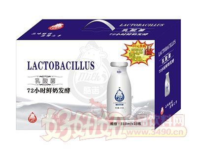 酷诺乳酸菌饮品310mlx10瓶