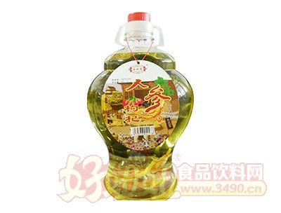 东北蒙人参枸杞酒4L