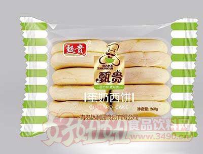 甄贵蛋奶西饼260g