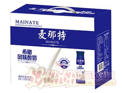 麦那特希腊风味酸奶310mlx10瓶