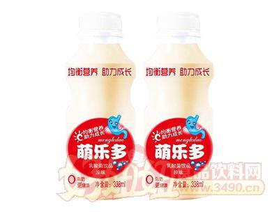萌乐多原味乳酸菌饮品338ml