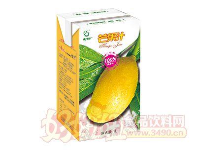 傣恋果园芒果汁1L利乐纸盒装