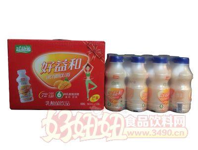 益和源乳酸菌饮品芒果味340mlx12瓶箱装