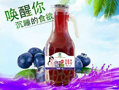 谷尚美蓝莓汁饮料1.5L