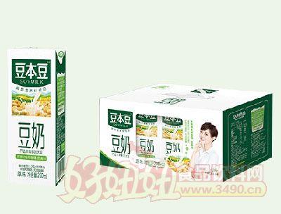 豆本豆豆奶250mlx12瓶