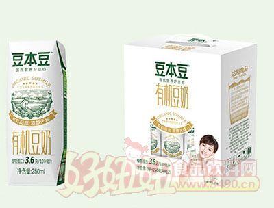 豆本豆有机豆奶250mlx12盒
