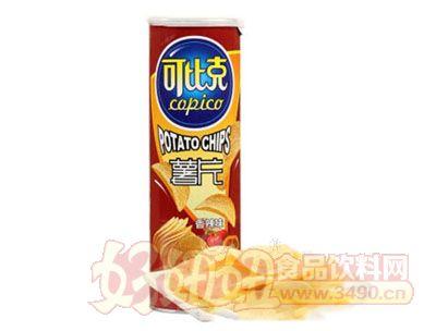 可比克香辣味薯片105g
