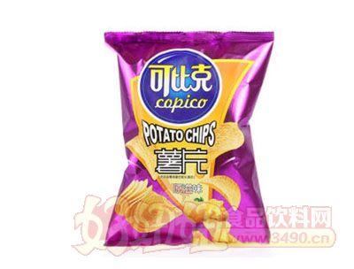 可比克原味薯片60g