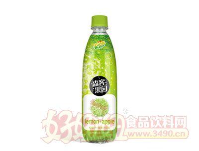 森客果园柠檬汁+苹果汁饮料480ml