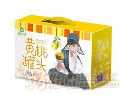 榨小妹黄桃罐头425gx8罐