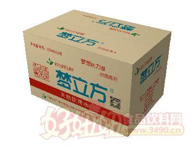 梦立方天然饮用水550ml×24瓶
