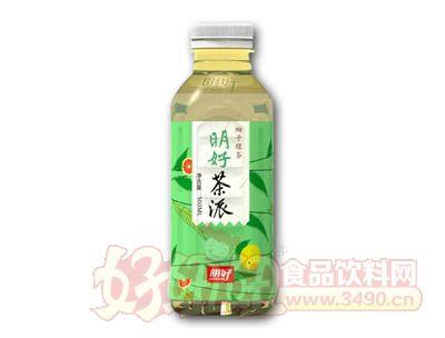 明好茶派柚子绿茶
