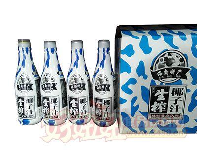 海南特产生榨椰子汁