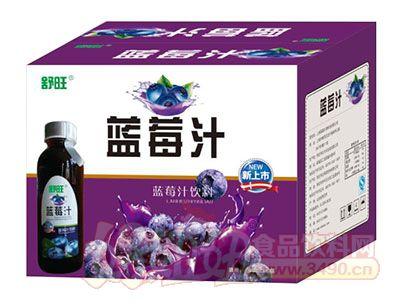 舒旺蓝莓汁饮料1.5L×6瓶