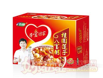 浩明桂圆莲子八宝粥1x12