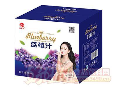 豫君源蓝莓汁1.5L×6瓶