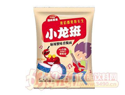 壹国味小龙班麻辣蟹味香脆面