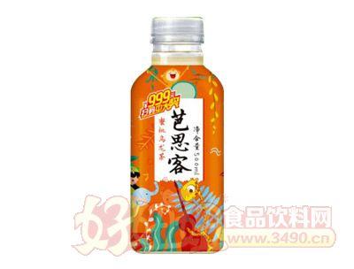 芭思客蜜桃乌龙茶500ml