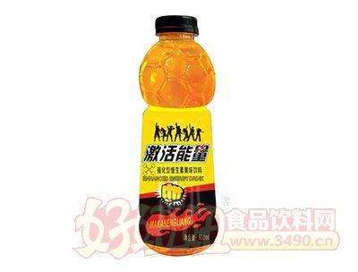 激活能量强化型维生素果味饮料600ml