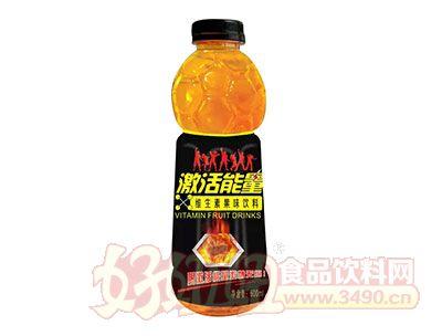激活能量维生素果味饮料600ml