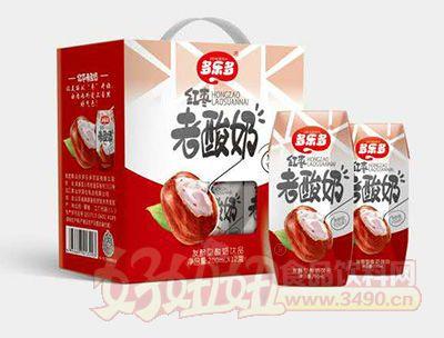 多乐多红枣老酸奶200mlx12瓶
