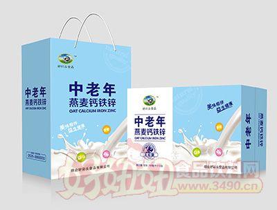 烟台好彩头中老年钙铁锌复合饮品蓝色250MLx12盒