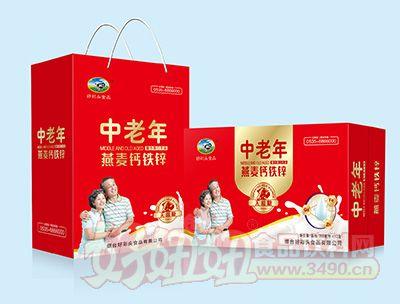 烟台好彩头中老年钙铁锌复合饮品流通装250MLx12盒