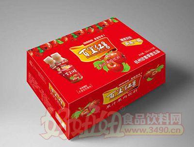 欣客336毫升x15瓶百里红山楂汁果肉饮料