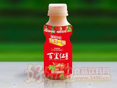 欣客336ml百里红山楂汁果肉饮料