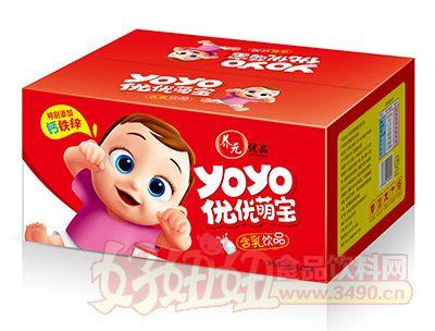 养元优品优优萌宝含乳饮品200mlx12罐