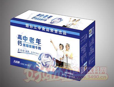 烟台江中中老年高钙饮品250mlx12盒