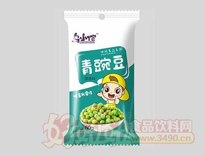 乌小馆蒜香味青豌豆60g