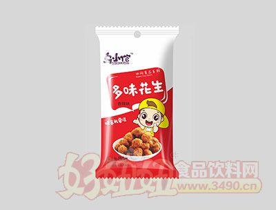 乌小馆香辣味多味花生86g